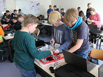 Robotics in Melle